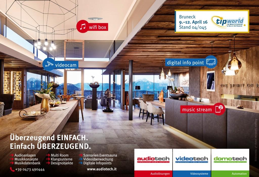 NewTec TipWorld 2016 lautsprecher hotel