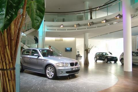 Newtec lautsprecher BMW