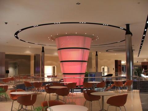 Newtec lautsprecher gastronomie hotel