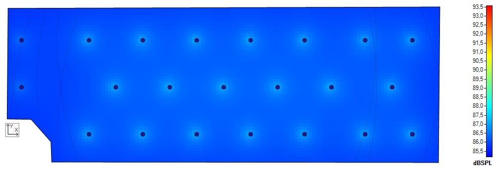 NewTec Ansicht Lautstärke im Raum