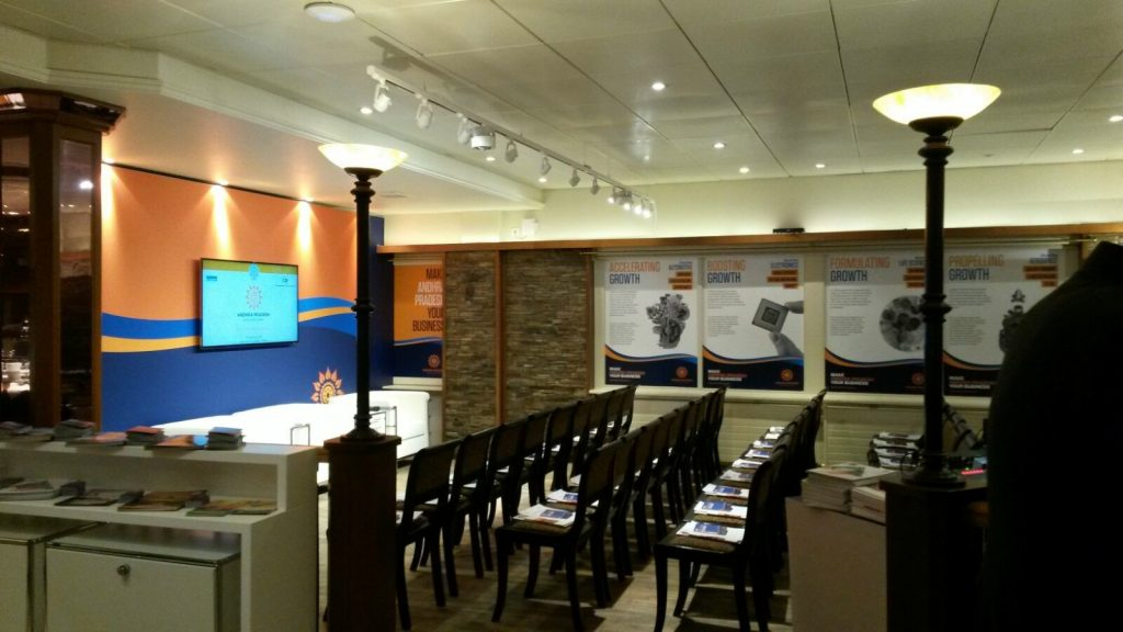 WEF Davos NewTec Lautsprecher