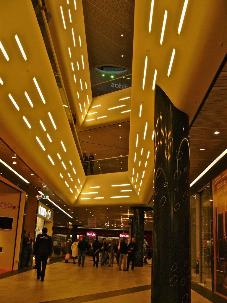Promenada Mall Bukarest NewTec Lautsprecher