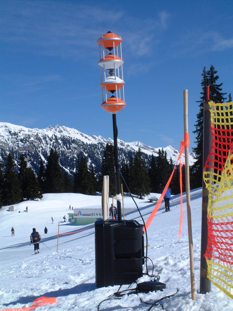 NewTec Loudspeaker Ratschings RedBull ski race