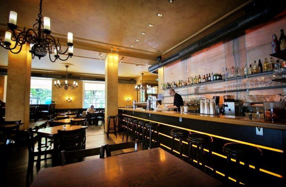 NewTec Deckeneinbaulautsprecher Restaurant Bohne & Malz