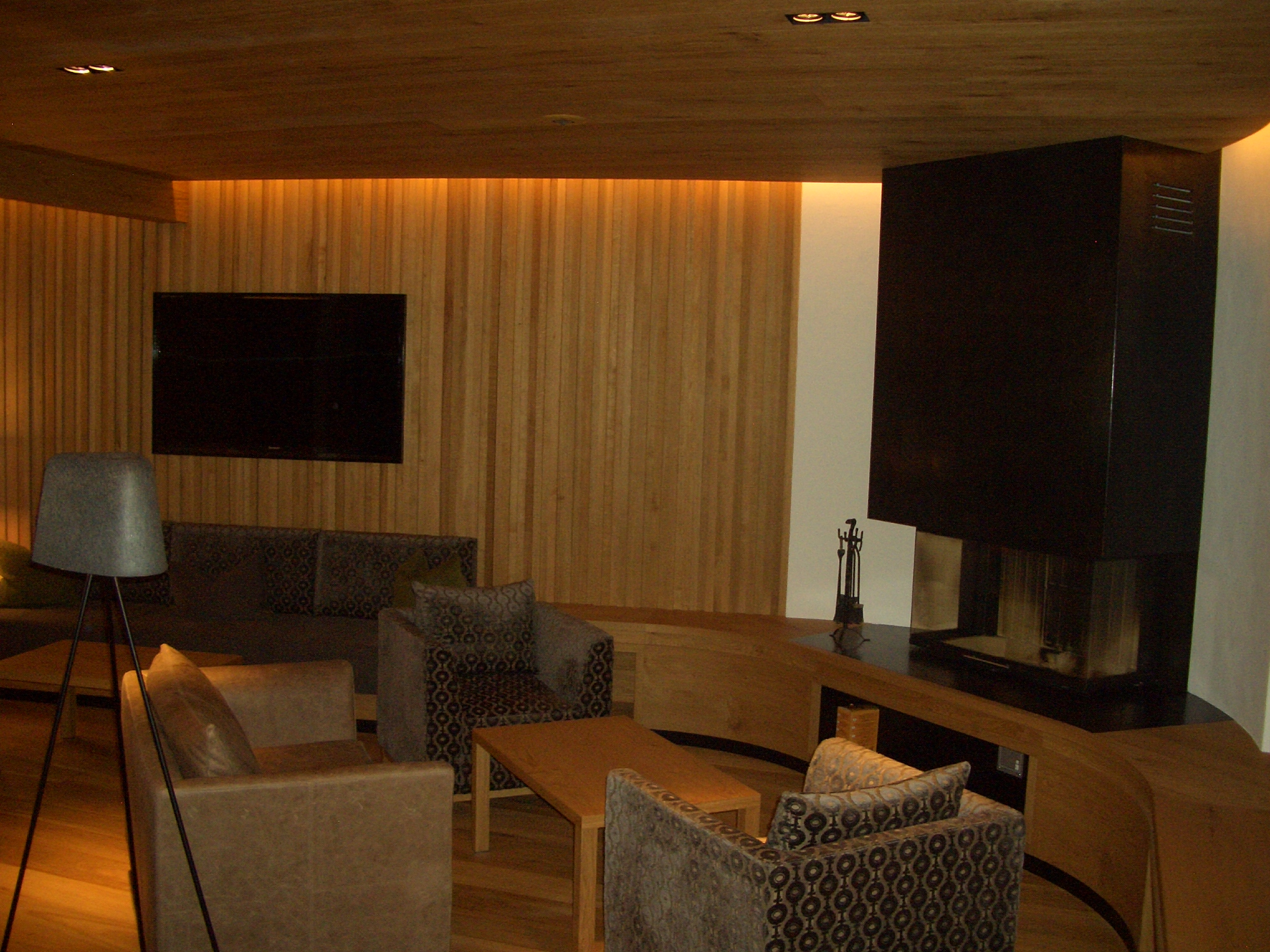 Newtec design audio for Wolkenstein design hotel