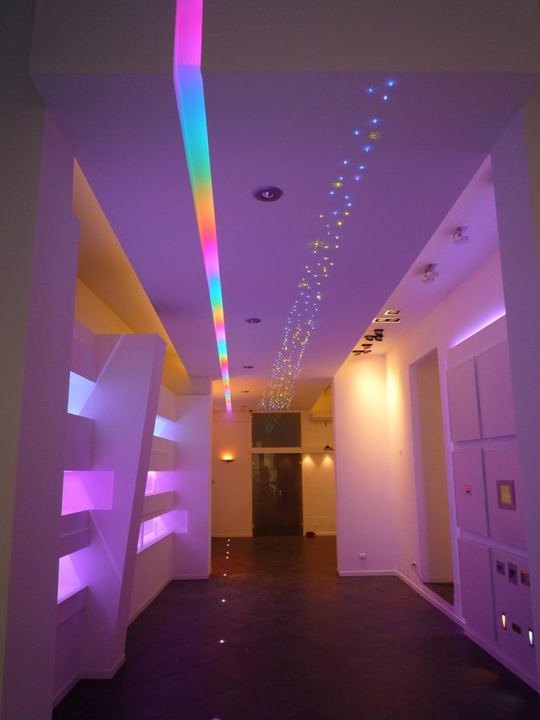 NewTec Deckeneinbaulautsprecher Luce LED