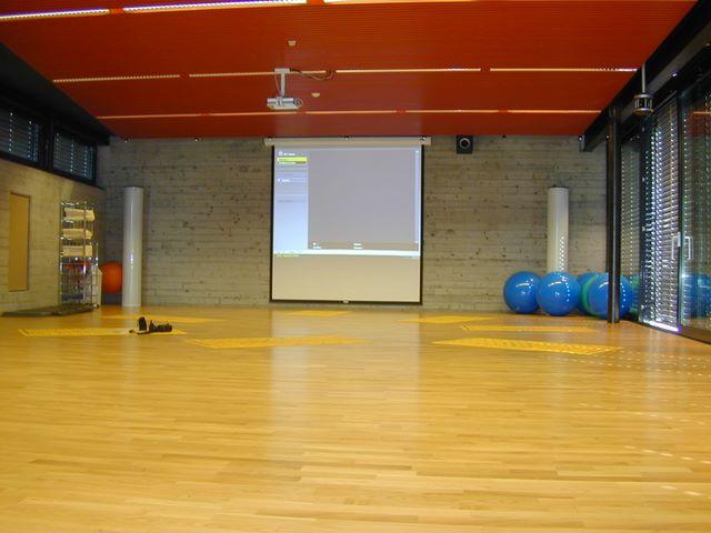 NewTec Lautsprecher Fitnessclub Sportraum