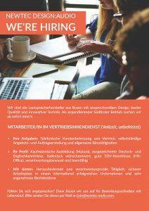 NewTec_Vertriebsinnendienst_Job