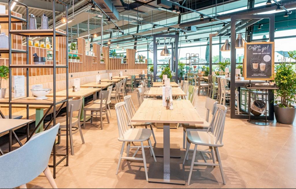 NewTec Lautsprecher Stromschiene MERKUR Restaurant Kabellos
