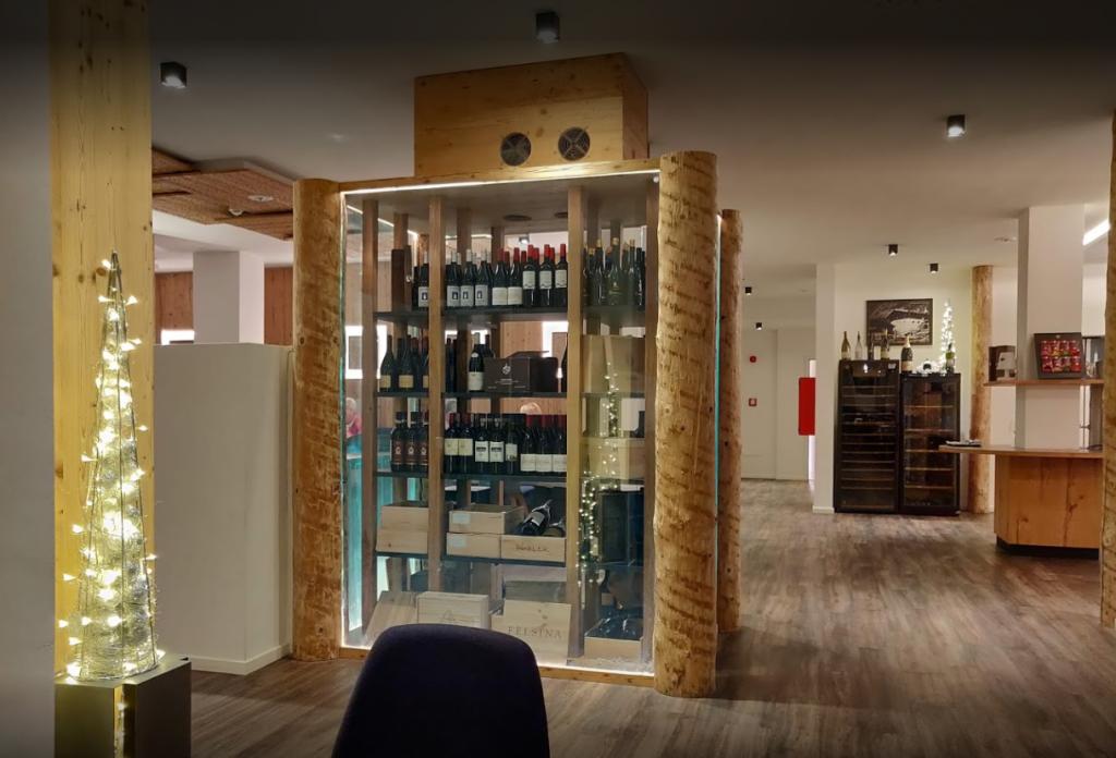 NewTec Adlernest in-ceiling speaker CONO alto gastronomy